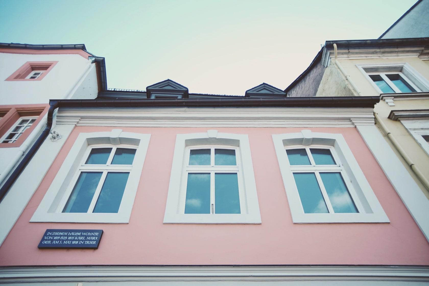 Detail U2013 Wohnhaus Von Karl Marx